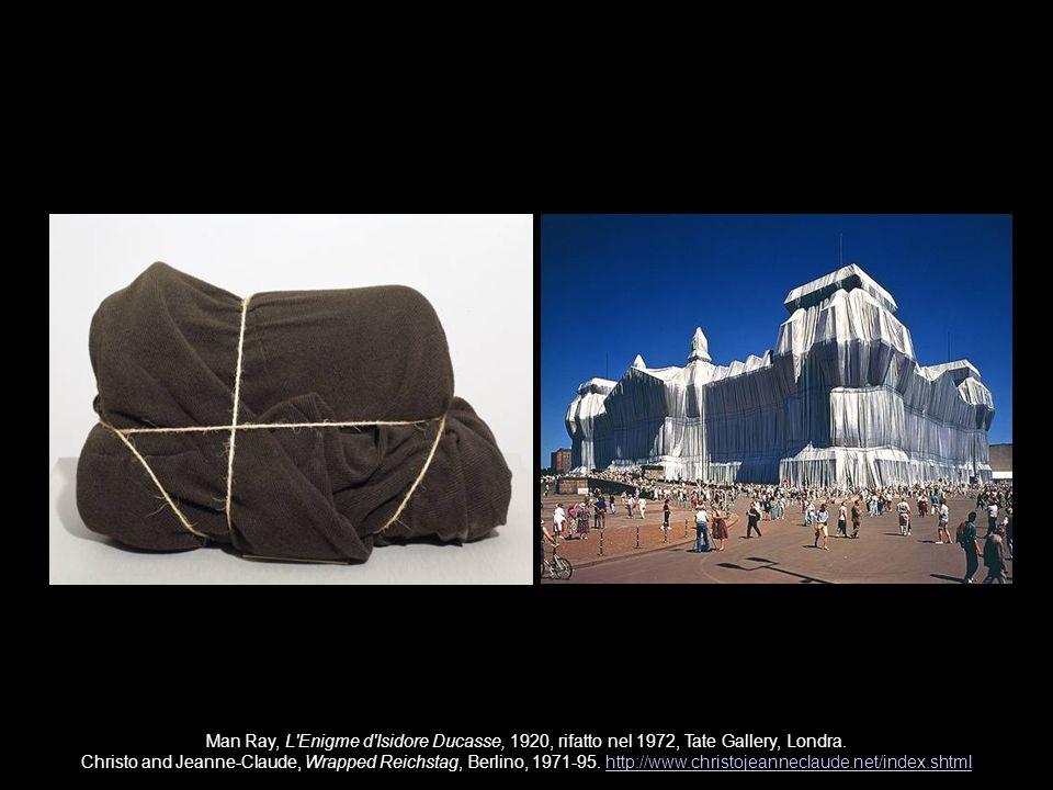 Man Ray, Objet Indestructible, 1923 (ricostruito 1964), MoMA, New York; Man Ray, Palettable, 1941.