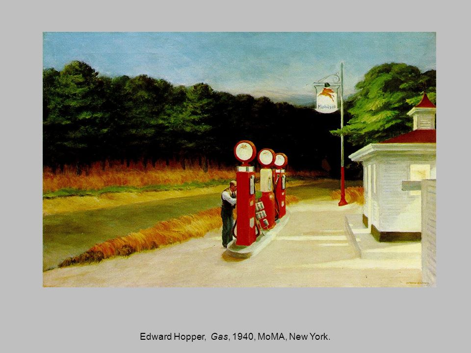 Edward Hopper, Gas, 1940, MoMA, New York.