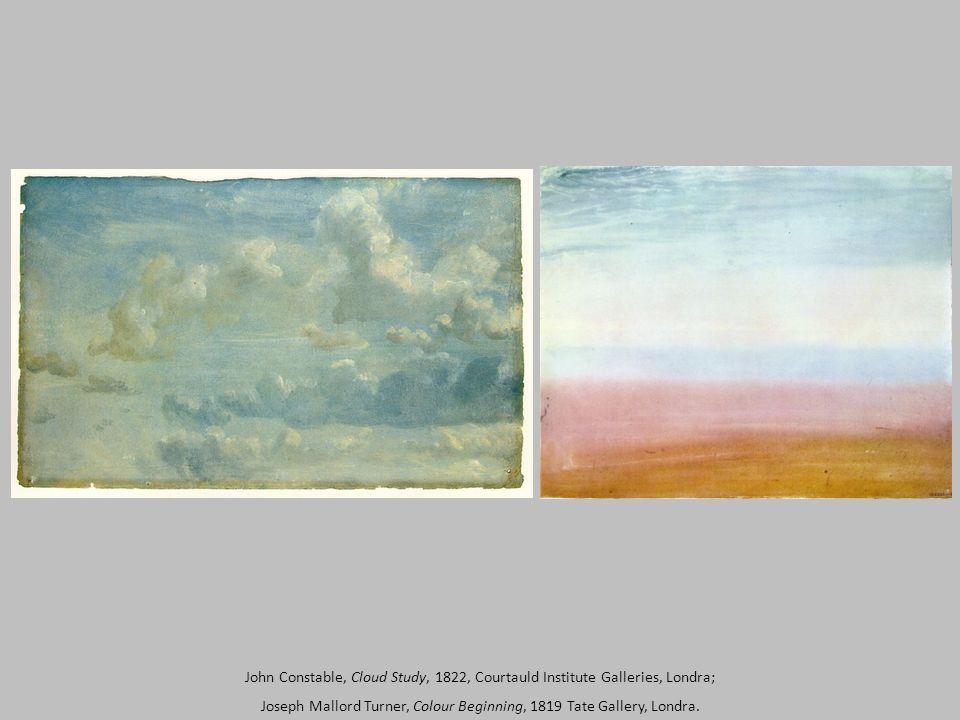 Joseph Mallord Turner, Colour Beginning, 1819, acquerello, 22,5 x 28,6 cm, Tate Gallery, Londra.