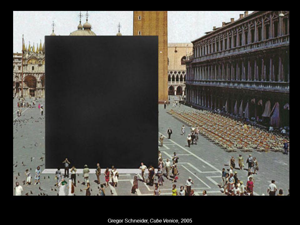 Gregor Schneider, Cube Venice, 2005