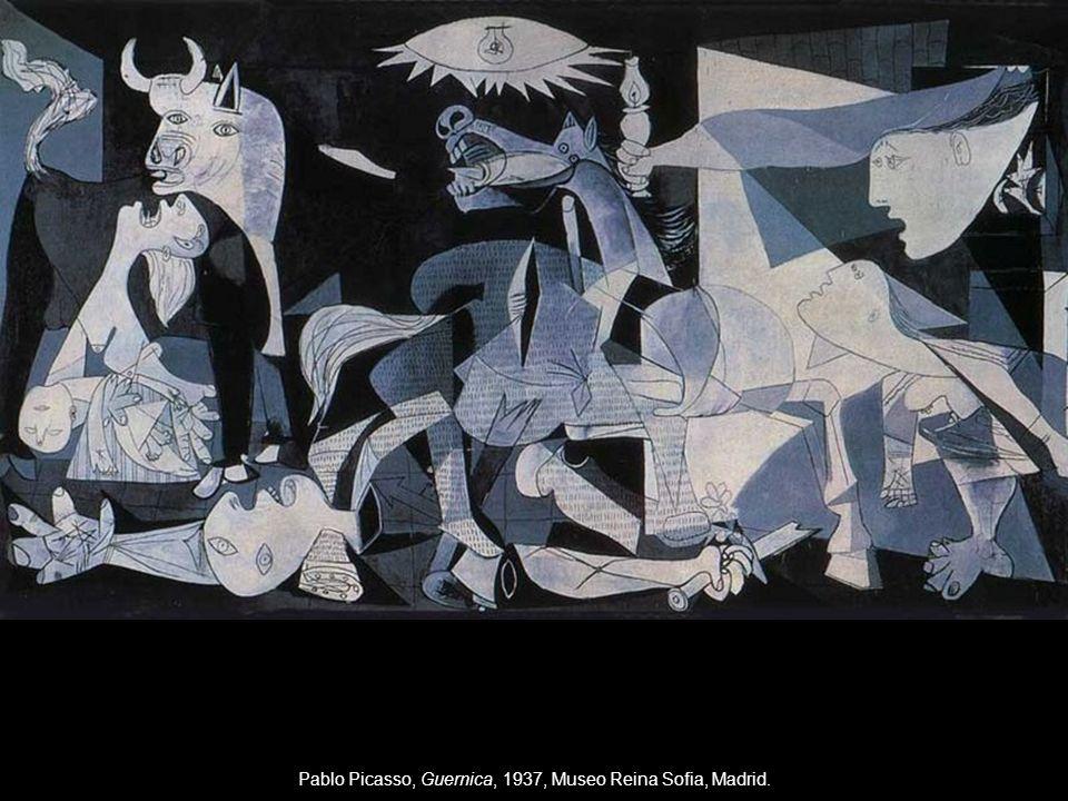 Pablo Picasso, Guernica, 1937, Museo Reina Sofia, Madrid.