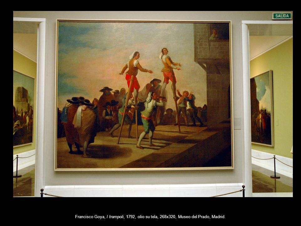 Francisco Goya, I trampoli, 1792, olio su tela, 268x320, Museo del Prado, Madrid.