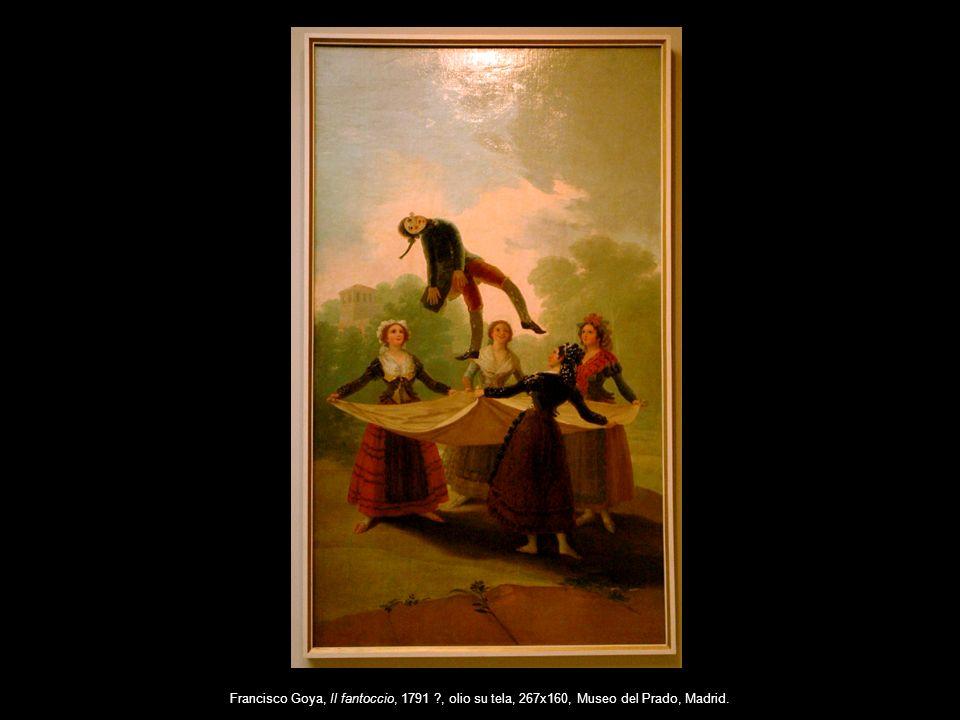 Francisco Goya, Il fantoccio, 1791 ?, olio su tela, 267x160, Museo del Prado, Madrid.