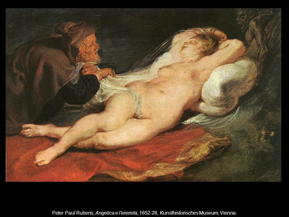 Peter Paul Rubens, Angelica e l'eremita, 1652-28, Kunsthistorisches Museum, Vienna.