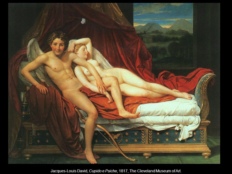 Jacques-Louis David, Cupido e Psiche, 1817, The Cleveland Museum of Art.