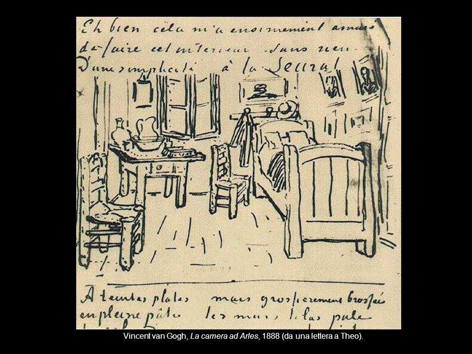 Vincent van Gogh, La camera ad Arles, 1888 (da una lettera a Theo).