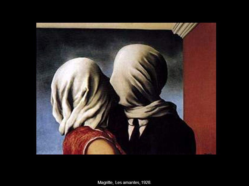 Magritte, Les amantes, 1928.