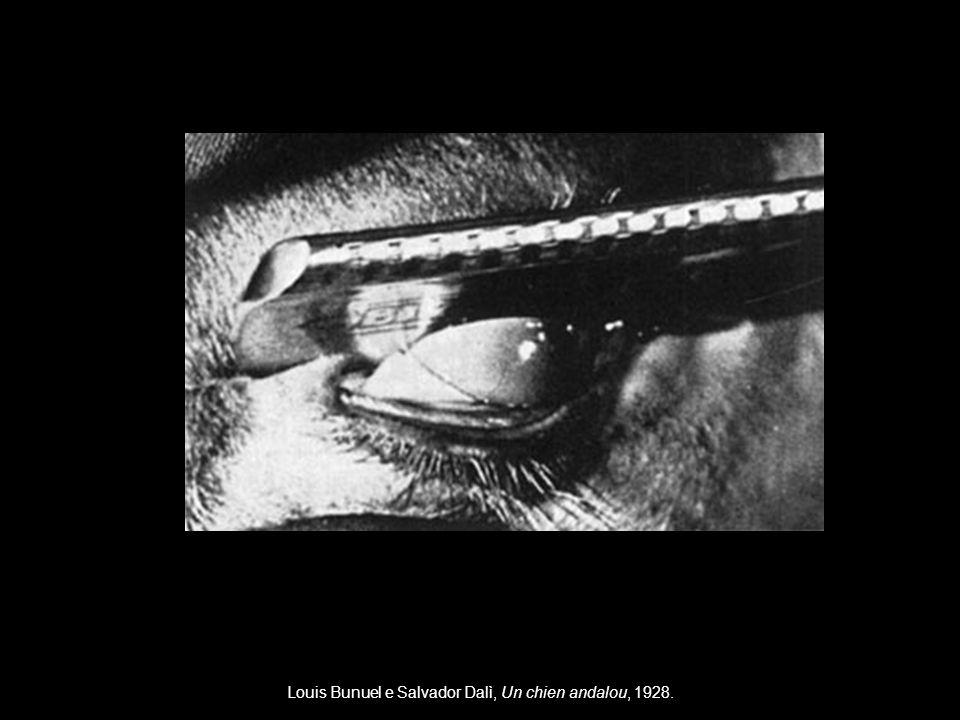 Louis Bunuel e Salvador Dalì, Un chien andalou, 1928.