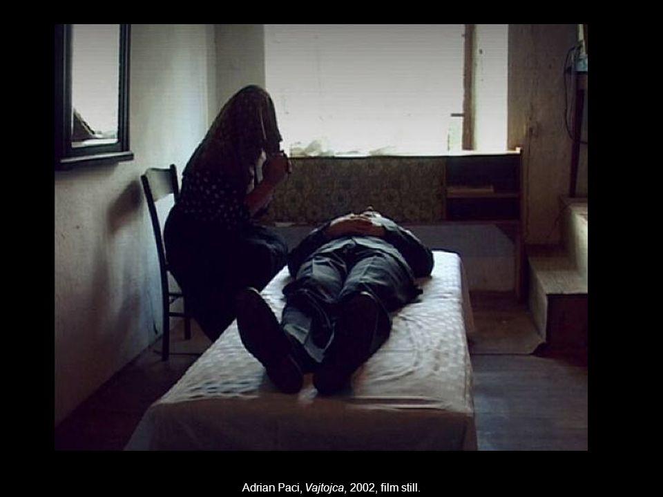 Adrian Paci, Vajtojca, 2002, film still.