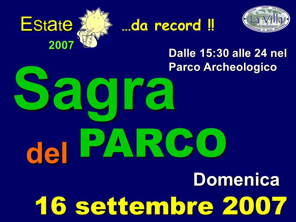 E St a t e 2007 …da record !.