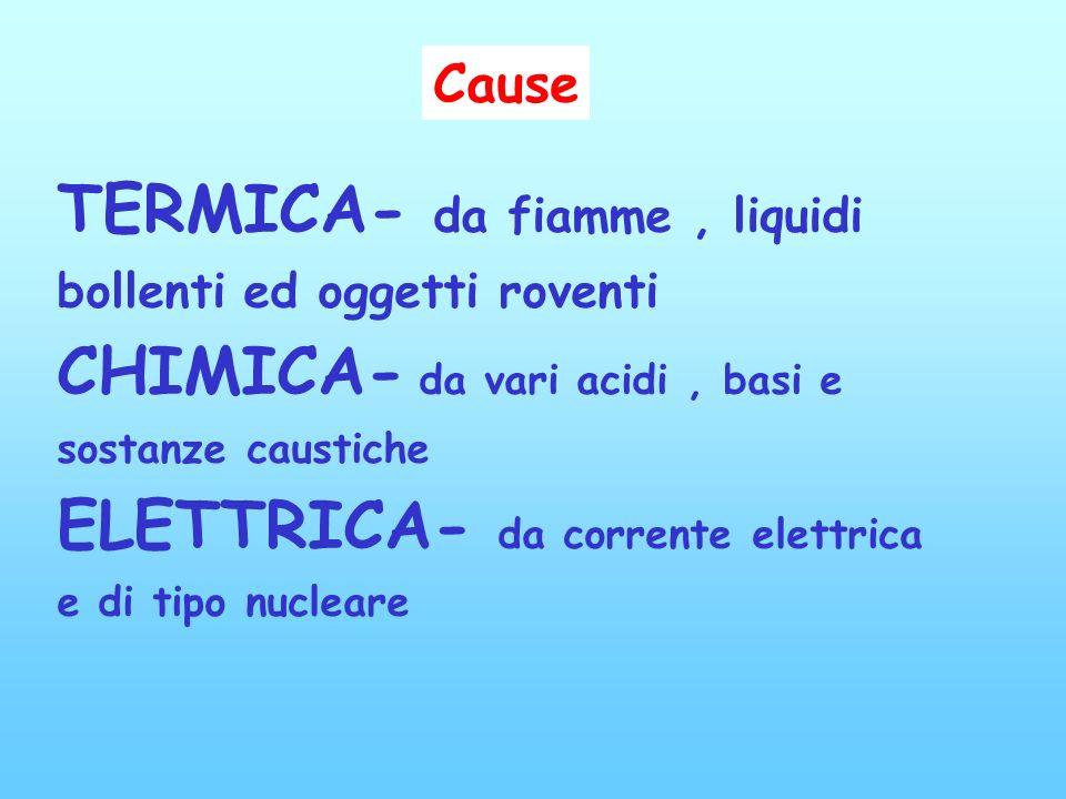Un ustione è un danno della cute o dei tessuti sottostanti causato dal contatto con una fonte di calore o da una corrente elettrica e rappresenta una
