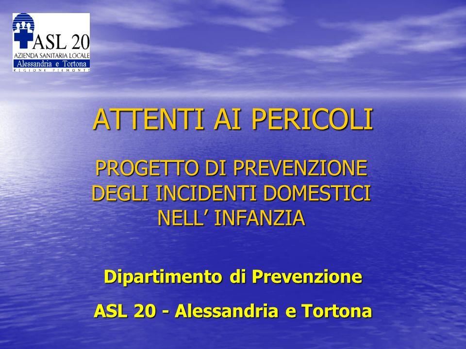 Incidenti dellinfanzia nella Provincia di Alessandria Uno studio di ricerca sanitaria effettuato nel 2004 sugli accessi al P.S.