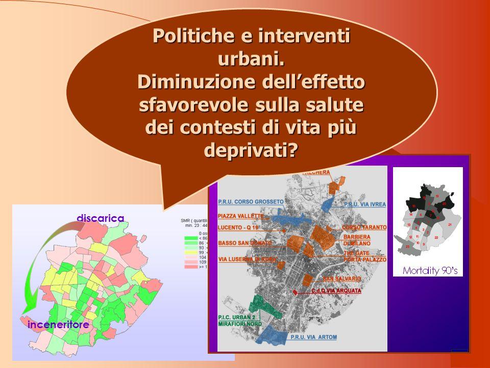 inceneritore discarica Politiche e interventi urbani.