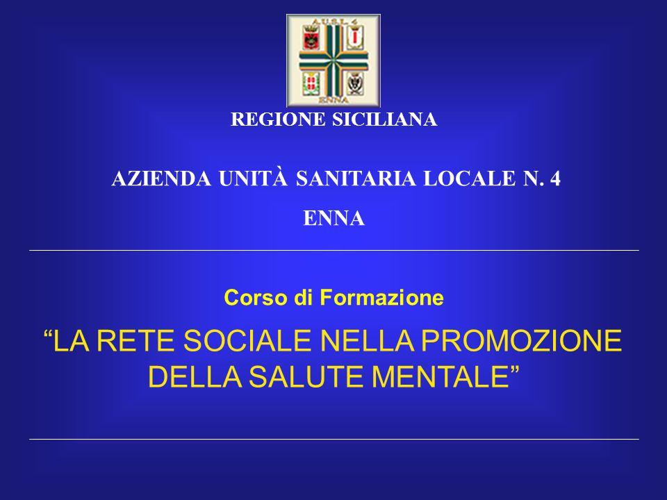 REGIONE SICILIANA AZIENDA UNITÀ SANITARIA LOCALE N.