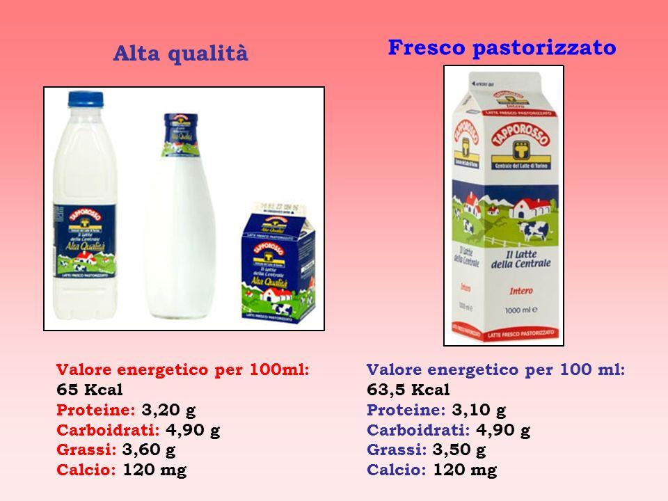 Quanti tipi di latte esistono? Latte fresco pastorizzato Latte pastorizzato a temperatura elevata Latte microfiltrato Latte fresco di alta qualità Lat