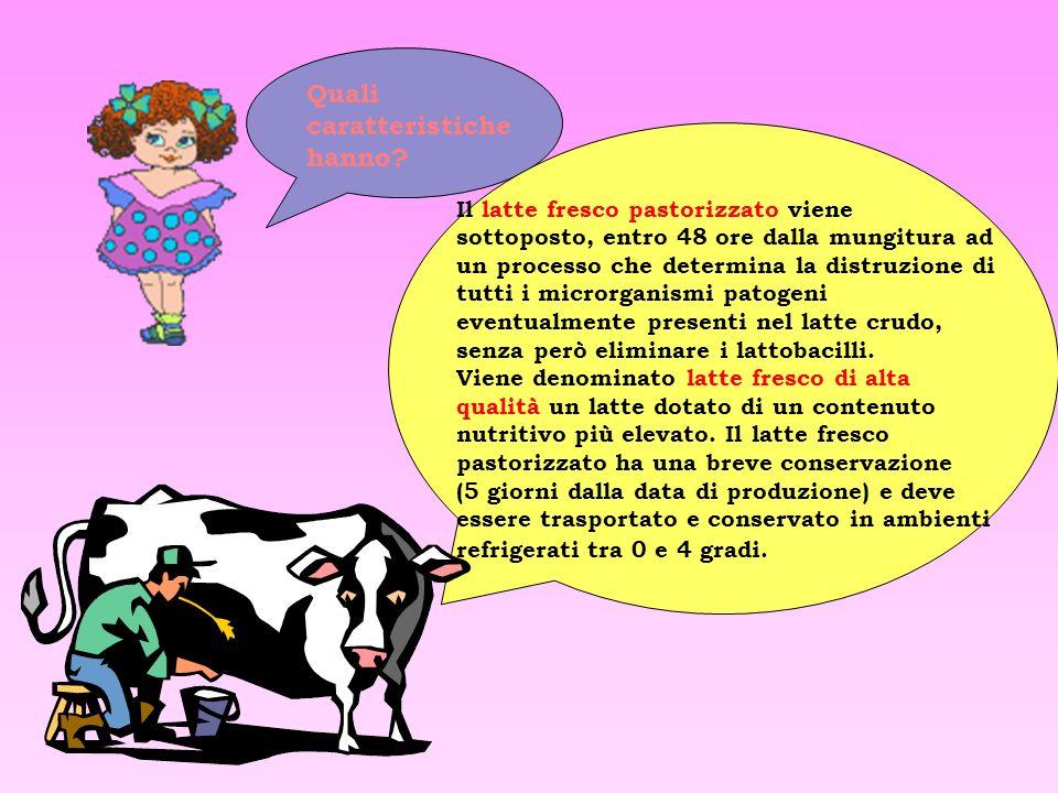 Valore energetico per 100 ml: 46 Kcal Proteine: 3,10 g Carboidrati: 4,8 g Lattosio: 1,2 g Grassi: 1,6 g Calcio: 120 mg Latte delattosatoLatte microfil