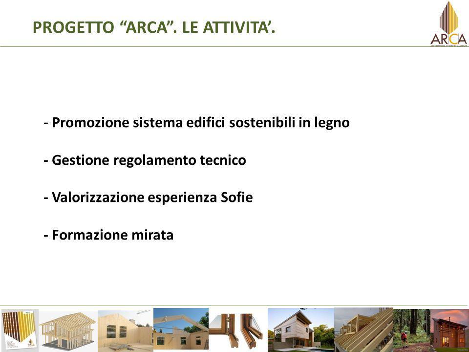 MADE expo 2011 La fiera internazionale delledilizia e dellarchitettura più visitata in Italia rappresenterà il primo momento di visibilità internazionale per le aziende trentine e il regolamento ARCA.