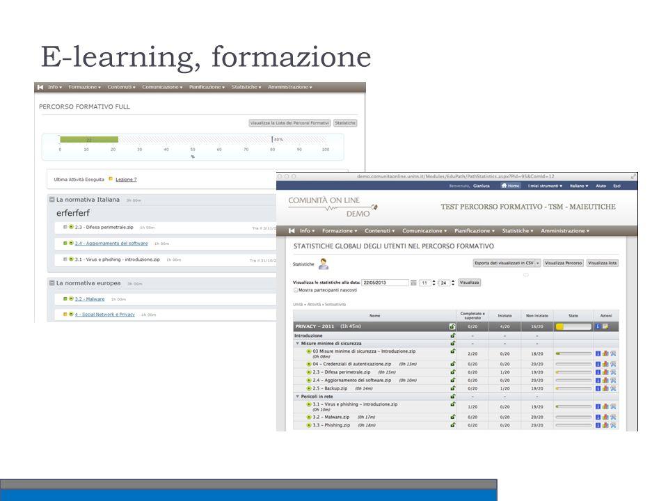 E-learning, formazione