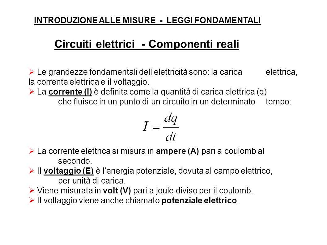 Le grandezze fondamentali dellelettricità sono: la carica elettrica, la corrente elettrica e il voltaggio.