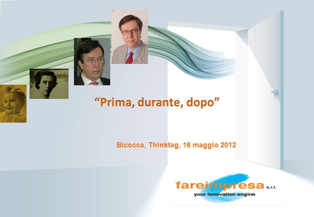 Page 1 Bicocca, Thinktag, 16 maggio 2012