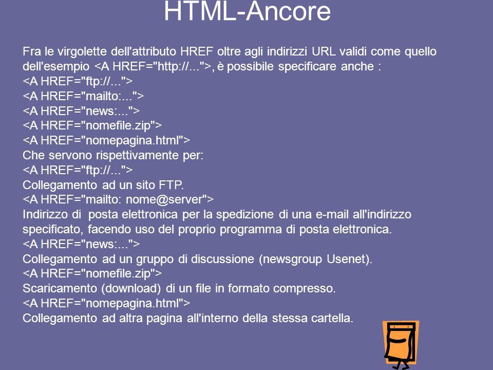 Sesto esempio ITALIA TERRA DI EMIGRANTI HTML Es.4bis