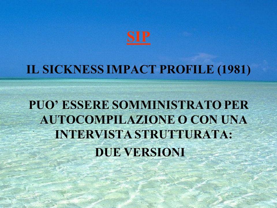 KARNOFSKY PERFORMANCE STATUS (1949) 100% Normale;assenza di disturbi;nessuna manifestazione di patologia 90% Capace di badare alle normali attività;se