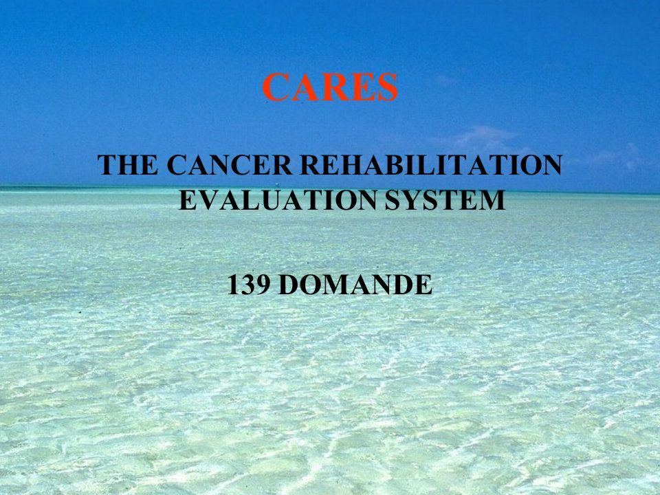 FLIC FUNCTIONAL LIVING INDEX FOR CANCER (1984) 22 DOMANDE
