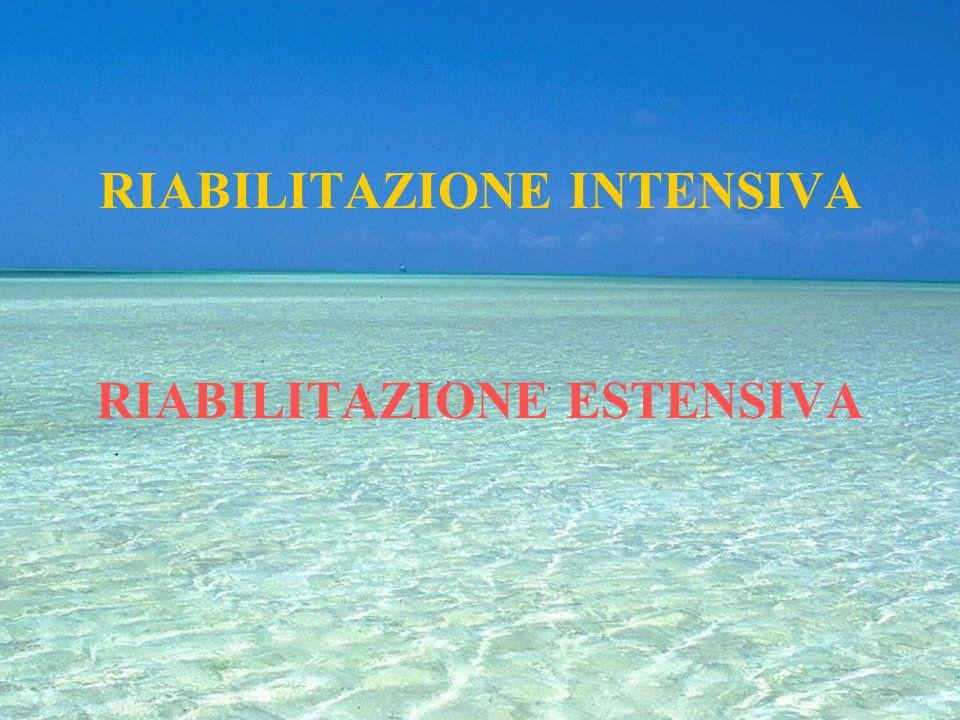 RIABILITAZIONE Un processo che porta una persona a recuperare il massimo di autonomia possibile, dopo un evento morboso