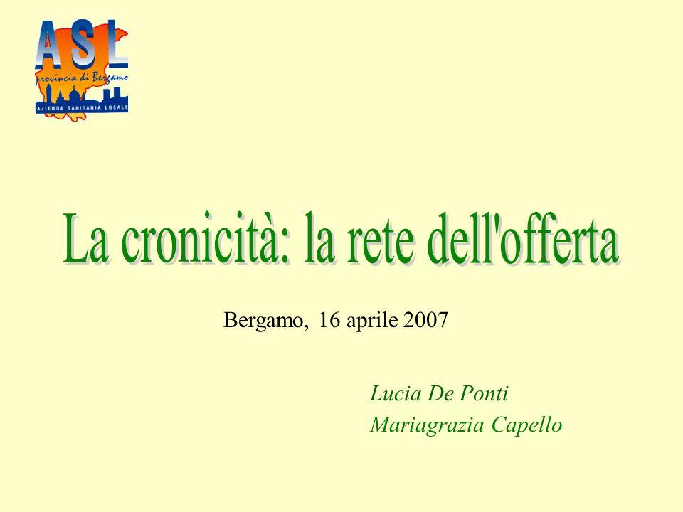 Lucia De Ponti Mariagrazia Capello Bergamo, 16 aprile 2007