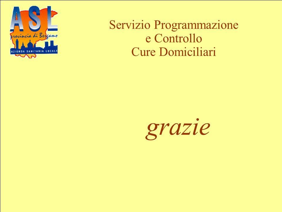 Servizio Programmazione e Controllo Cure Domiciliari grazie