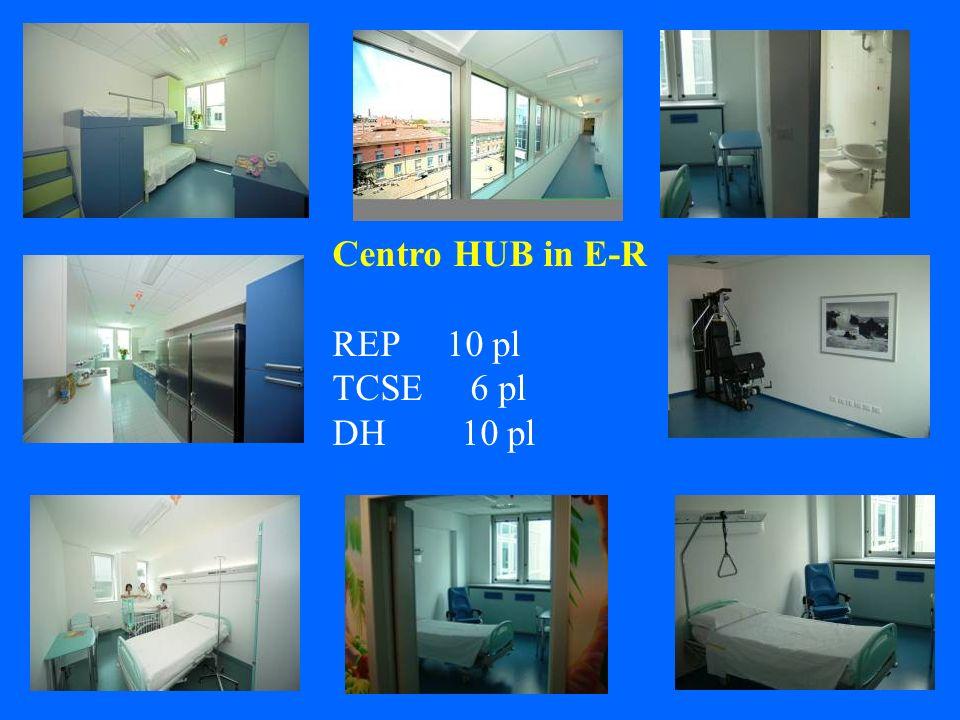 Centro HUB in E-R REP 10 pl TCSE 6 pl DH 10 pl