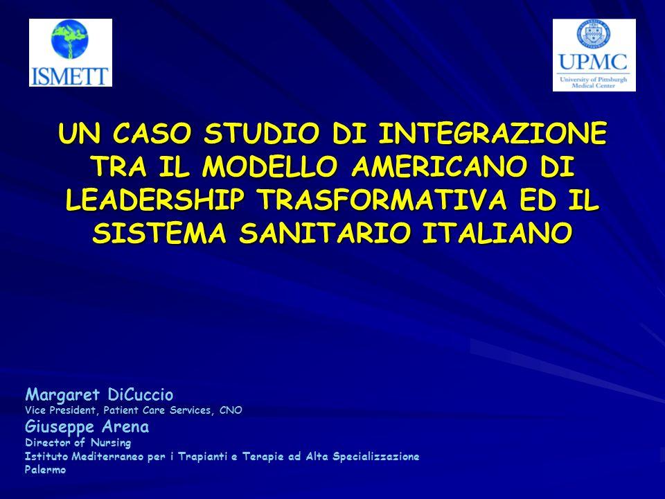 Obiettivo di partenza Prendere il meglio dei modelli sanitari dei 2 Paesi e fonderli in ununica struttura.