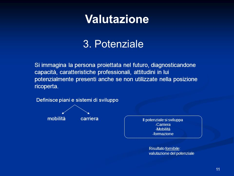 11 Valutazione 3.