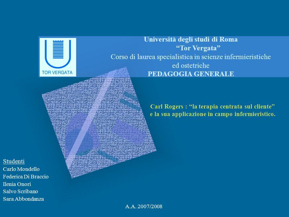 Studenti Carlo Mondello Federica Di Braccio Ilenia Onori Salvo Scribano Sara Abbondanza A.A.