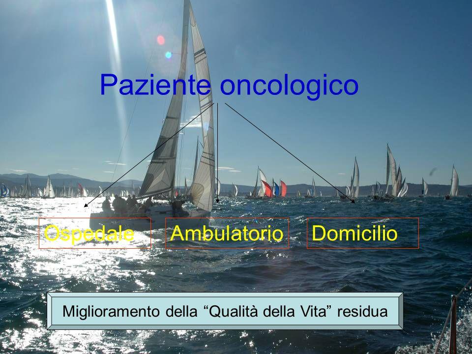 Rischieste di Valutazione Fisiatrica Ambulatoriale dal 2000 al 2006 diagnosi di invio Metastasi ossee38561% Pneumo/lobectomie23729% Patologie associate 9510% Totale717