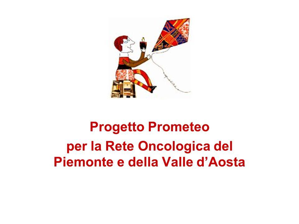 Progetto Prometeo per la Rete Oncologica del Piemonte e della Valle dAosta