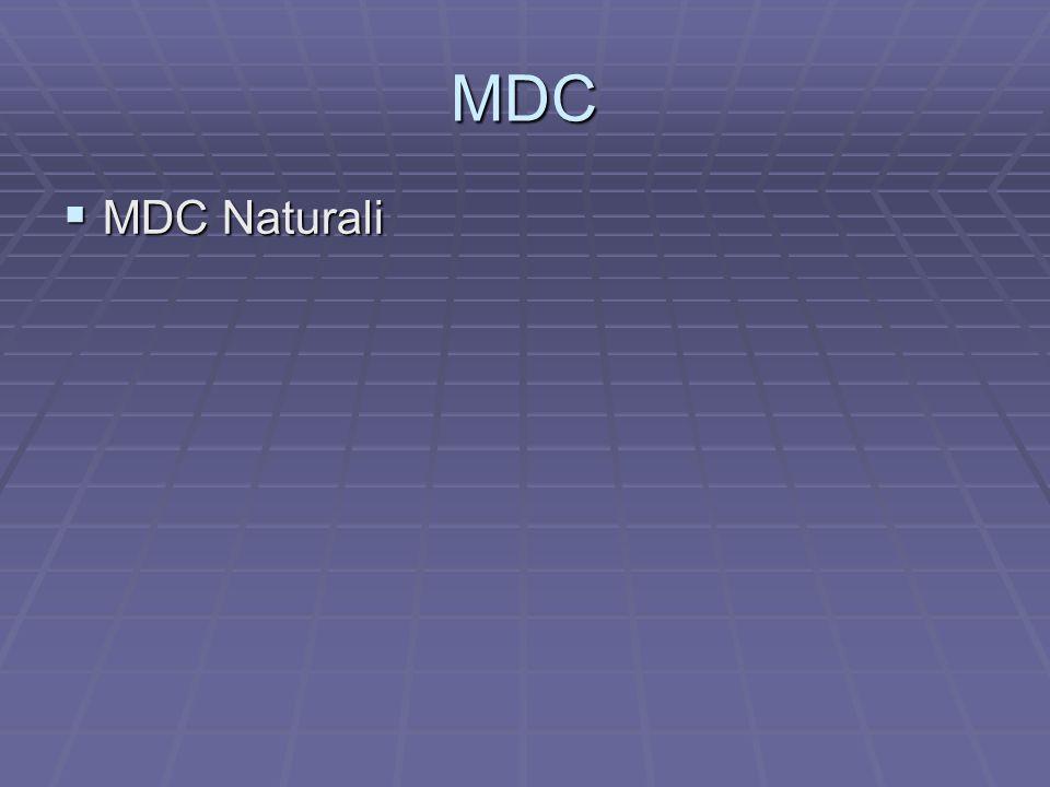 MDC MDC Naturali MDC Naturali
