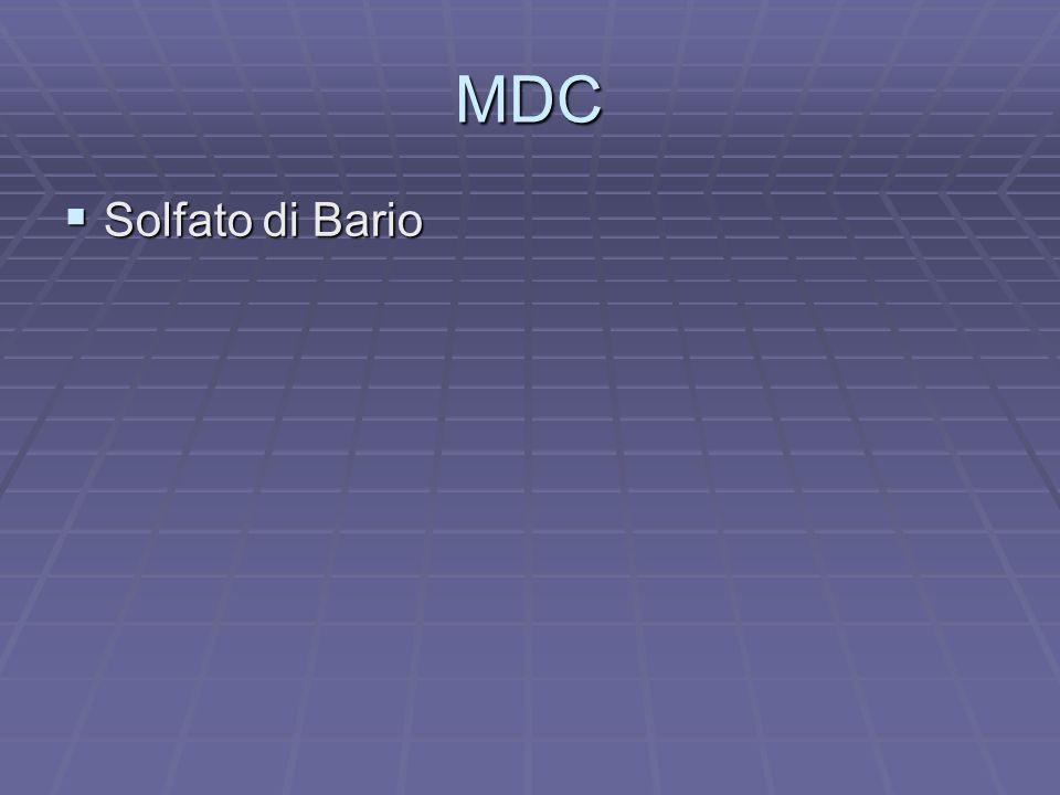 MDC Solfato di Bario Solfato di Bario