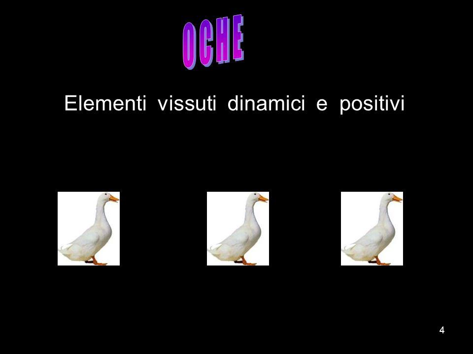 4 Elementi vissuti dinamici e positivi