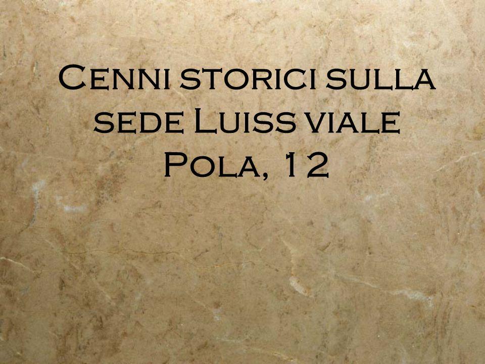 Resti della proprietà del Cardinale Giulio Alberoni (nel 1722 lacquistò come vigna e la trasformò nella sua villa di campagna)