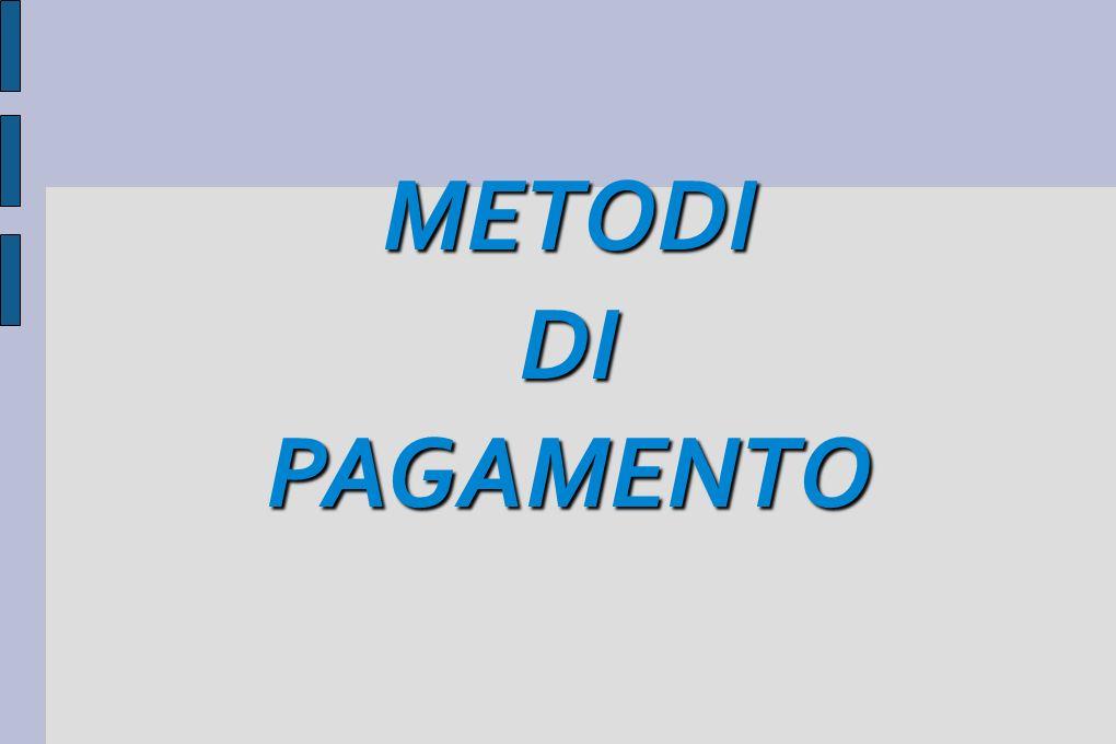 METODIDIPAGAMENTO