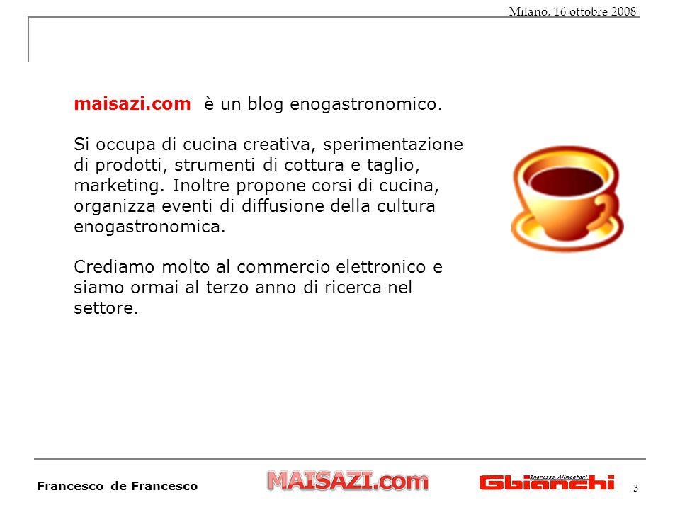 3 maisazi.com è un blog enogastronomico.