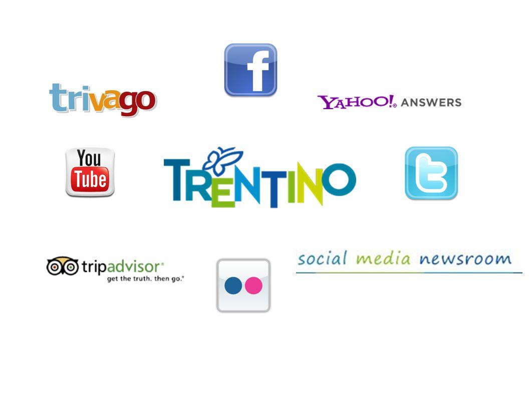 www.facebook.com/visittrentino.it da luglio 2010 quasi 20.000 fan 4300 foto 3 / 4 post x giorno, tutti I giorni fan page x fiere,eventi speciali internazionalizzazione
