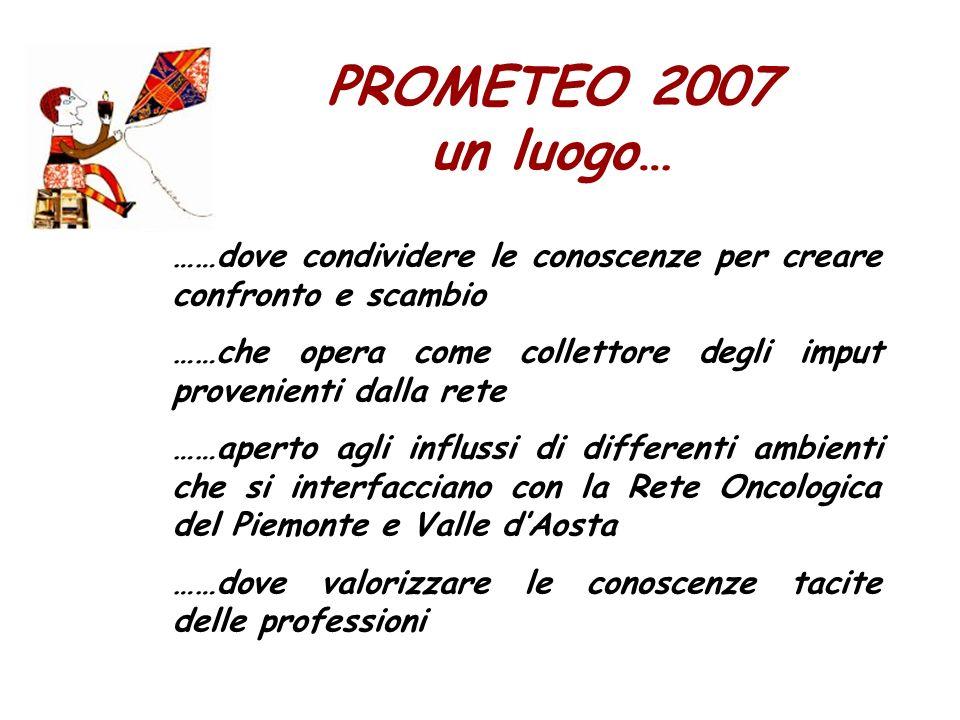 PROMETEO 2009 una modalità nuova di utilizzo internet..