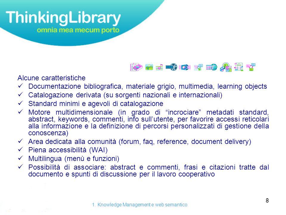 19 Thinking Library è anche un applicazione multipiattaforma per Palmare, Smartphone e pocket PC, per la gestione on-line e off-line della base dati e la sincronizzazione con il server web.