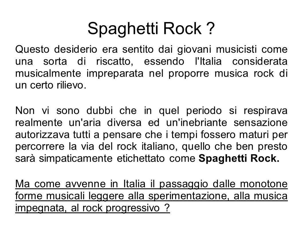 Spaghetti Rock .