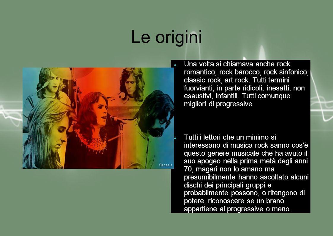 Elementi costituenti del Prog.