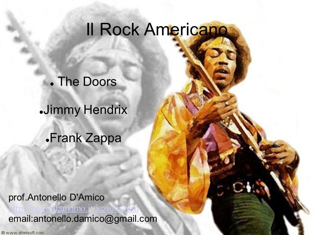 Contesto Storico Come più volte affermato, il Rock è stata la colonna sonora per molti movimenti socioculturali ed in particolar modo di quelli avvenuti a cavallo tra gli anni 60 e 70 nei paesi occidentali, soprattutto negli Stati Uniti.