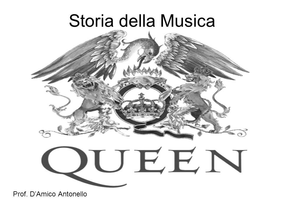 Storia della Musica Prof. DAmico Antonello
