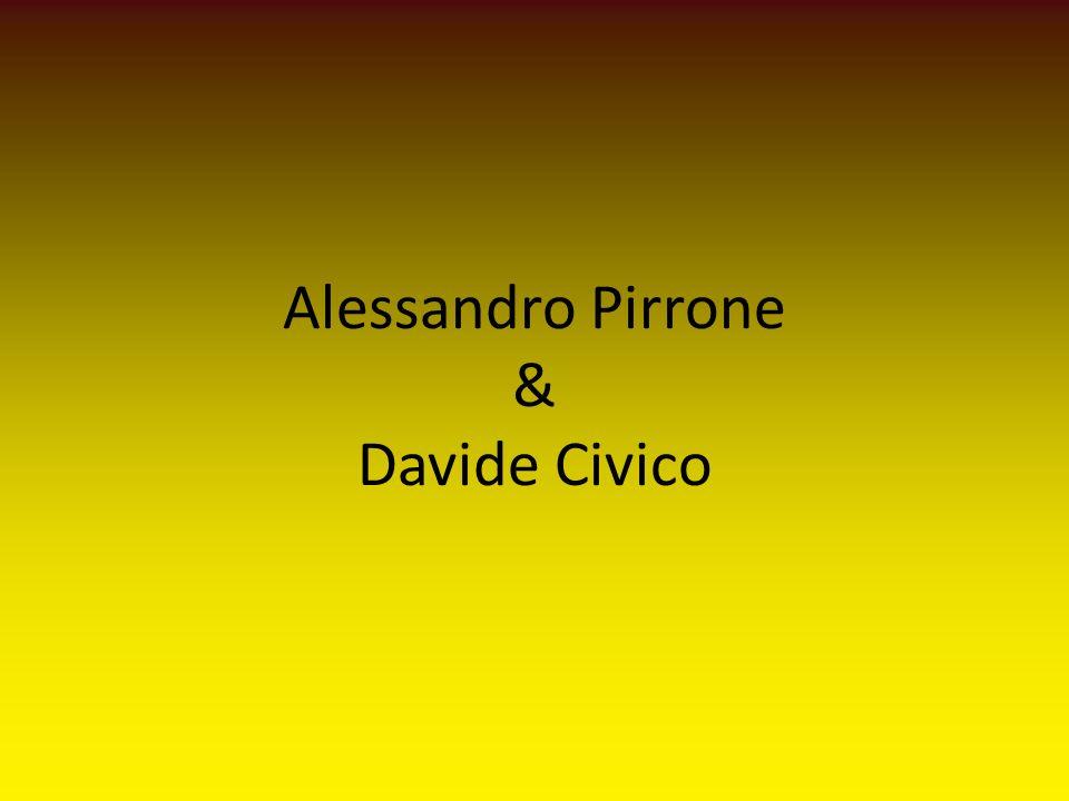 Alessandro Pirrone & Davide Civico